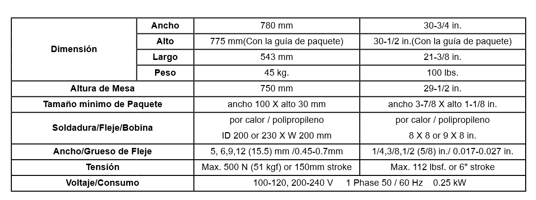 FLEJADORA SEMIAUTOMATICA IQ-400