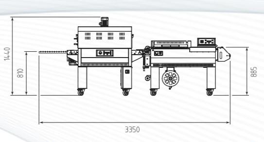 SMIPACK FP560 + TUNEL DE RETRACCIÓN T45O