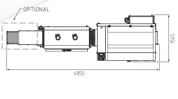 RETRACTILADORA FP6000 CS + TUNEL 452