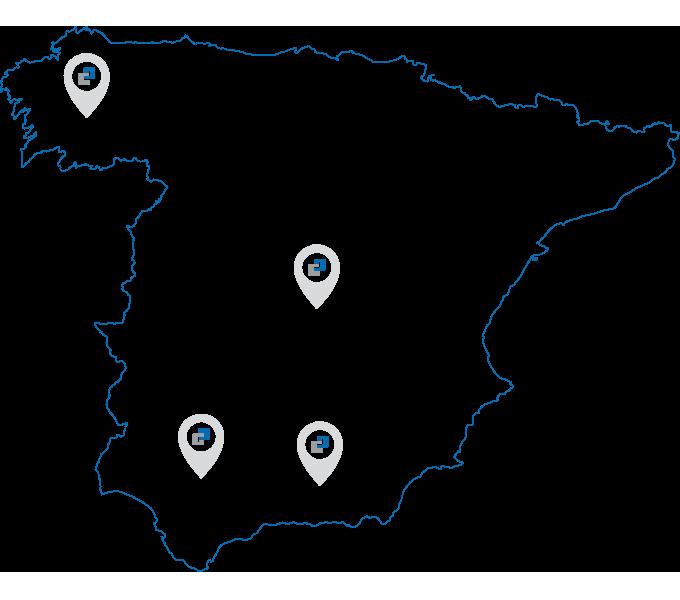 Fijaplast en Andalucía
